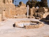 The Old City Of Caesarea Israe