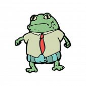 business toad illustration