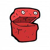 Lunchbox cartoon