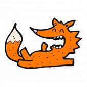 laughing fox cartoon