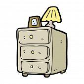 bedside cabinet cartoon
