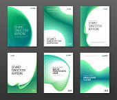 Annual Report Cover Design Templates Set For Business. Good For Annual Report, Magazine Cover, Poste poster
