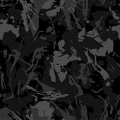 Urban Camouflage, Modern Fashion Design. Camo Military Protective. Army Uniform. Grunge Pattern. Bla poster