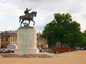 Ecole Militaire And Monument In Paris City