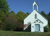 old country church catskill mountains