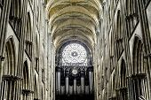 Rouen - Catedral Interior