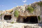 Cave, Neapolis In Syracuse