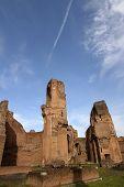 Baths of Carcalla) in Rome, Italy