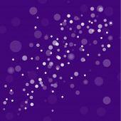 Purple Christmas snow background