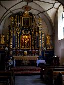 Wawolnica, Poland - June 19: Shrine Of Our Lady Of Keble In Wawolnica