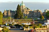 The British Columbia Parliament Buildings