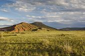 mountain ranch landscape in Colorado - Red Mountain Open Space
