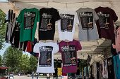 T-shirts at Springsteen concert