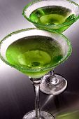 Green Apple Martini's