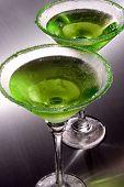 Green Apple Martini's