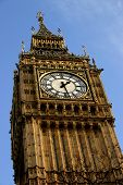 stock photo of big-ben  - Close-up of Big Ben - crisp detail. 