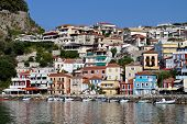 Parga city in Greece