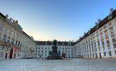 Square In Hofburg, Vienna, Austria