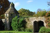 Dovecote At Nymans Gardens, West Sussex, England