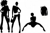 pic of woman body  - Useful icon about slim trendy models - JPG