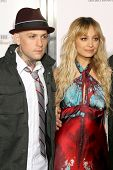 Benji Madden and Nicole Richie  at the Sony Cierge and The Richie-Madden Children's Foundation UNICEF Benefit. Myhouse, Los Angeles, CA. 03-23-09