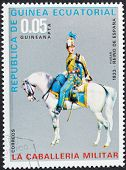 Spain Hussar In 1833 Year