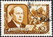 Russian Writer Aleksey Nikolayevich Tolstoy