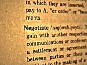 Dictionary Negotiate