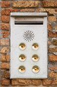 Mailbox doorbell combo.