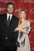 Christopher Backus and Mira Sorvino  at the Palm Springs Film Festival Gala. Palm Springs Convention Center, Palm Springs, CA. 01-06-09