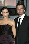 Kate Beckinsale and Len Wiseman  at VH1's 14th Annual Critic's Choice Awards. Santa Monica Civic Aud