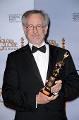 Steven Spielberg in the press room at the 66th Annual Golden Globe Awards. Beverly Hilton Hotel, Bev