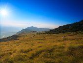 image of nano  - View of the Nanos mountain in Slovenia - JPG