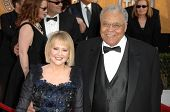 Cecilia Hart and James Earl Jones at the 15th Annual Screen Actors Guild Awards. Shrine Auditorium,
