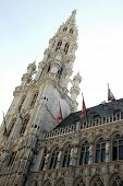 The Town Hall building in Brussels
