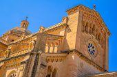 Ta Pinu Basilica Low Angle