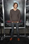 Jared Padalecki at the Los Angeles Premiere of 'Friday the 13th'. Grauman's Chinese Theatre, Hollywo