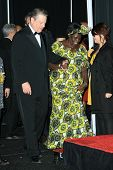 Al Gore and Wangari Muta Maathai in the press room at the 40th NAACP Image Awards. Shrine Auditorium