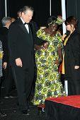 Al Gore and Wangari Muta Maathai in the press room at the 40th NAACP Image Awards. Shrine Auditorium