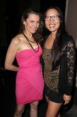 Alicia Arden, Joyce Chow at the Opening Night Of