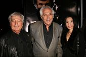 Sid Krofft with Marty Krofft and his wife Christa  at the Los Angeles Premiere of 'Frost-Nixon'. Samuel Goldwyn Theater, Los Angles, CA. 11-24-08