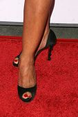 Gina Ravera's shoes  at the 8th Annual Padres Contra El Cancer's 'El Sueno De Esperanza' Benefit Gal
