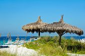pic of cabana  - Cabana and Chair Rentals on the Beach