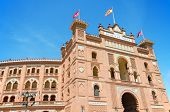 Famous Bullfighting arena in Madrid. Plaza de toros de las Ventas