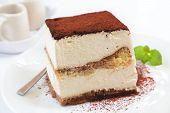 Tiramisu Cake.