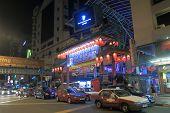 China Town Kuala Lumpur night