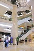 ION Orchard Shopping mall interior Singapore