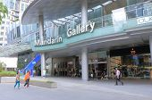 Mandarin Gallery Shopping centre Orchard road Singapore