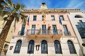 Town hall of Sanary Sur Mer France