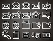 Envelope, Folder, Web Vector Icons